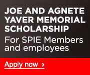 The Joe and Agnete Yaver Memorial Scholarship