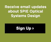 Sign up for Email updates on Optical Systems Design