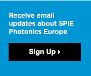 Receive email updates about SPIE Photonics Europe