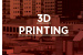 SPIE Applications of 3D Printing, part of SPIE Photonics West