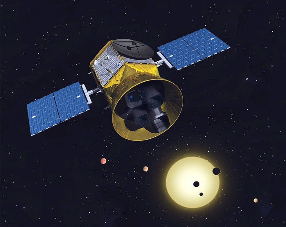 Conceptual image of the TESS mission