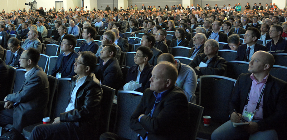 Full audience for presentations at SPIE Advanced Lithography 2019