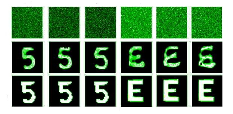 Learning-based lensless imaging through optically thick scattering media