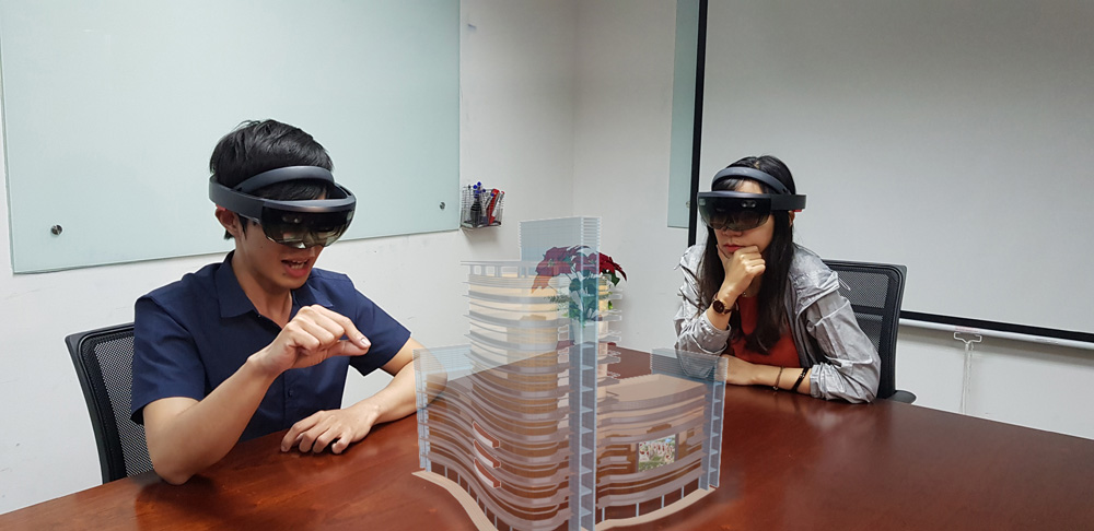 Hololens in action