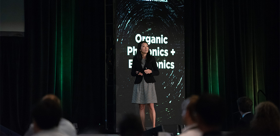 Lynn Loo at SPIE Optics + Photonics 2018