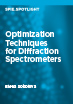 Optimization Techniques for Diffraction Spectrometers