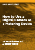 How to Use a Digital Camera as a Metering Device