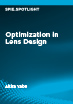 Optimization in Lens Design