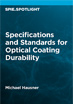 Specifications and Standards for Optical Coating Durability