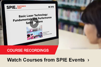 Click here to see short courses from SPIE Events