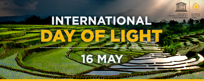 16 May | The International Day of Light