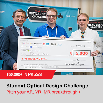 Call for Papers for the 2019 Optical Design Challenge.